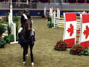 Brianna 3rd CET medal